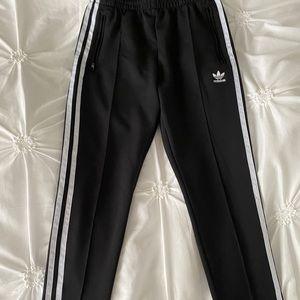 Adidas Three-Stripe Track Pants Pull-on Style